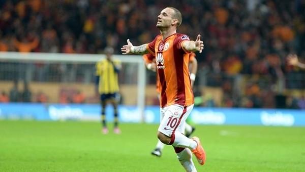 Galatasaray derbide Wesley Sneijder'e güveniyor - Süper Lig Haberleri