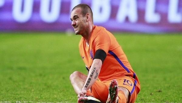 Wesley Sneijder'in sakatlığında son durum