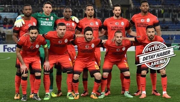 Galatasaray'dan rekor değişiklik!