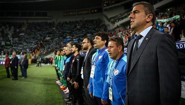Bursaspor'dan Hamza Hamzaoğlu kararı