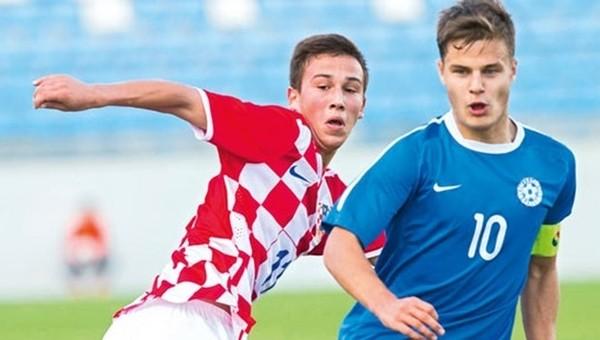 Hırvatistan - Estonya U21 maçında skandal hata
