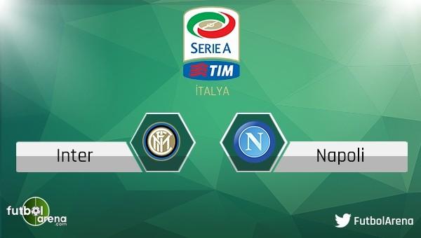 İnter - Napoli maçı saat kaçta, hangi kanalda?
