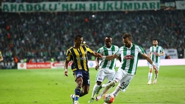 Konyaspor Fenerbahçe'ye fark attı - Süper Lig Haberleri
