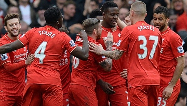 Liverpool, Stoke City'e fark attı!