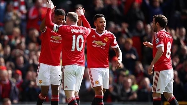 Manchester United kazandı Aston Villa küme düştü