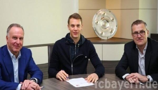 Manuel Neuer'den 5 yıllık imza - Bayern Münih Haberleri