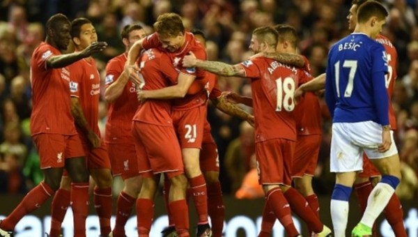 Merseyside derbisinde Liverpool fark attı