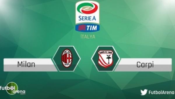 Milan - Carpi maçı saat kaçta, hangi kanalda?