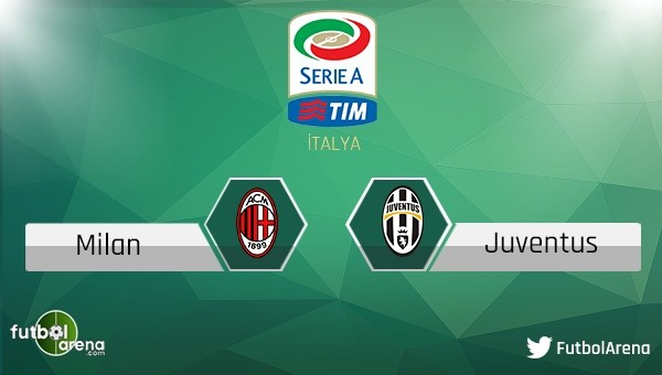 Milan - Juventus maçı saat kaçta, hangi kanalda?