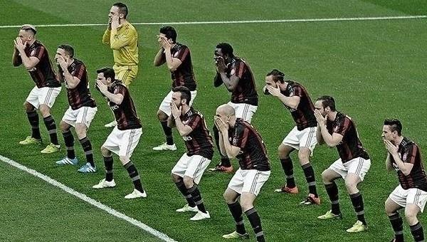 Milanlı futbolculardan Haka dansı - İtalya Ligi Haberleri