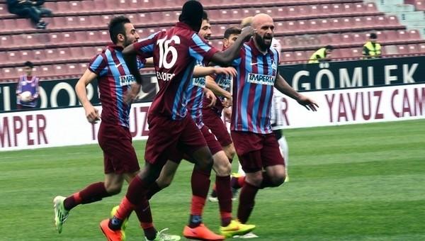 PTT 1. Lig'de 1461 Trabzon fırtınası