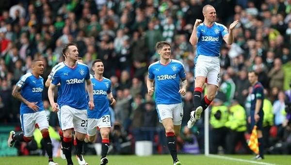 Rangers ezeli rakibi Celtic'i kupa dışına itti