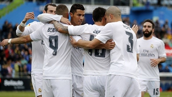 Real Madrid'ten Getafe'ye 5 gol!
