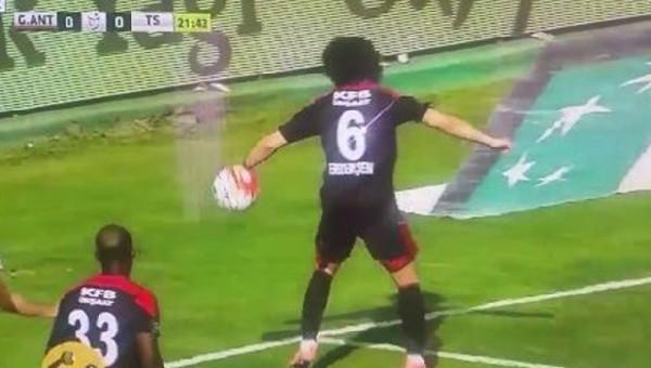 Trabzonsporlu taraftarları çıldırtan pozisyon