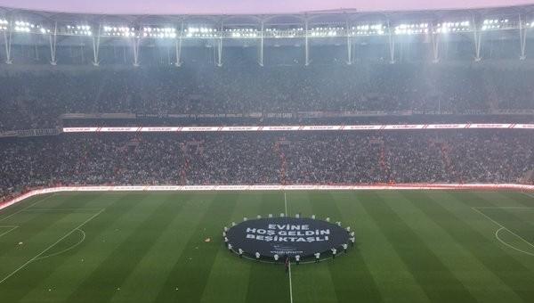 Vodafone Arena'da ilklerin gecesi