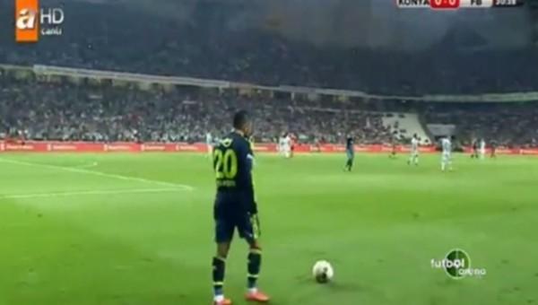 Volkan Şen, Konyaspor tribünlerini çıldırttı - Fenerbahçe Haberleri