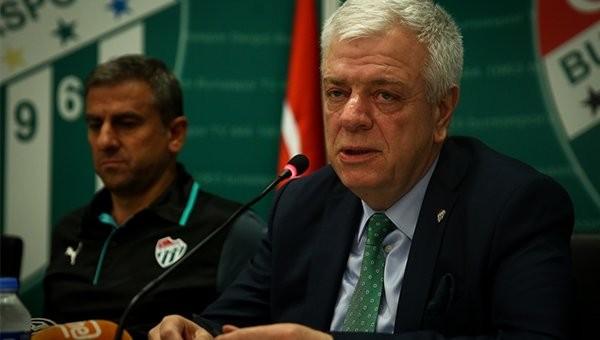 Ali Ay, Bursaspor'a yapacakları transfer sayısını açıkladı