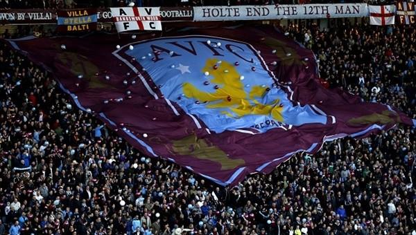 Aston Villa taraftarından görülmemiş protesto - İZLE