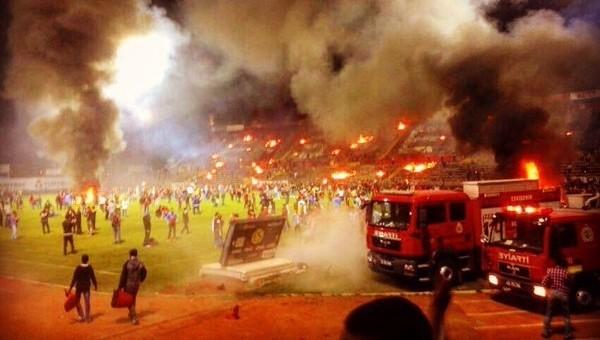 Ateşe verilen Atatürk Stadyumu'nda bilanço belli oldu - Eskişehirspor Haberleri