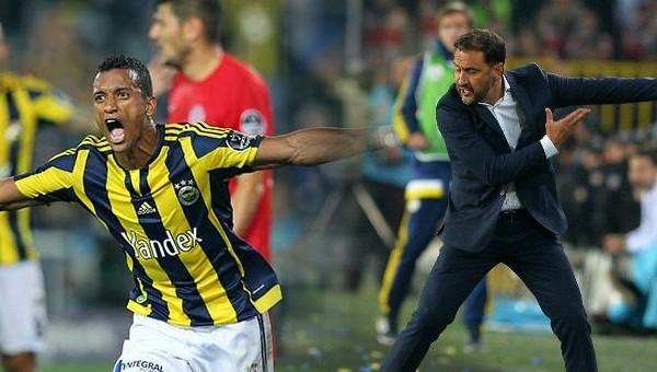 Fenerbahçe'de Nani ve Pereira gerginliği