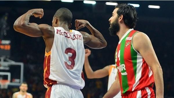 Galatasaray, Pınar Karşıyaka'yı eledi