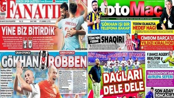 Spor gazeteleri oku - Spor gazete manşetleri - Gazete Oku (Fanatik, Fotomaç, AMK gazeteleri - 30 Mayıs 2016)