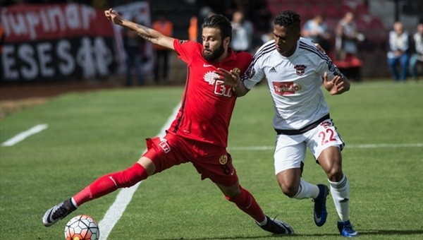 Gaziantepspor - Eskişehirspor maçı nefes kesti