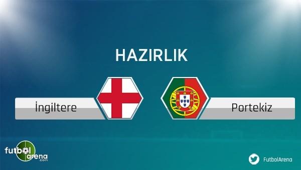 İngiltere - Portekiz maçı saat kaçta, hangi kanalda?