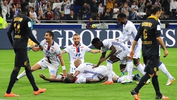 Lyon'dan Monaco'ya bozgun!