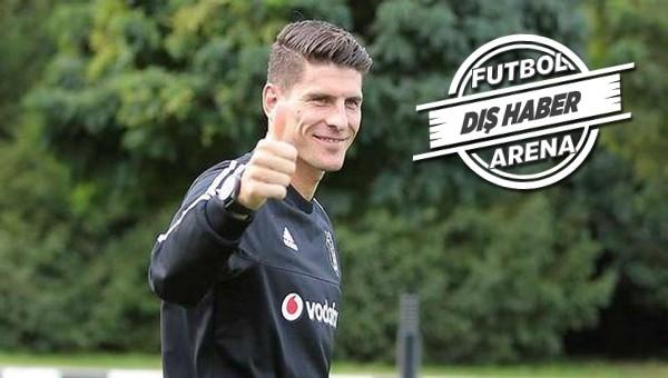 Beşiktaş Transfer Haberleri: Mario Gomez'den Beşiktaş'a transferde müjdeli haber!