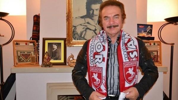 Orhan Gencebay, Samsunspor'a destek verdi