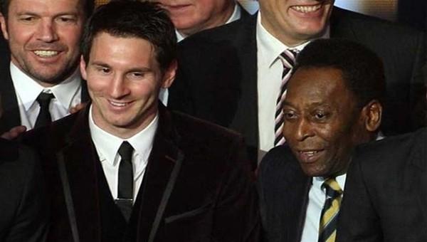 Pele'den Lionel Messi'ye büyük övgüler