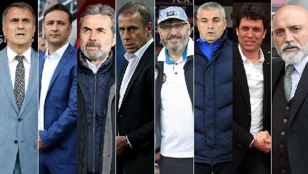 Süper Lig'de teknik direktör değiştirmeyen 8 takım