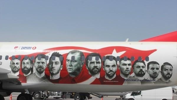 THY'den Milli Takım'a özel uçak