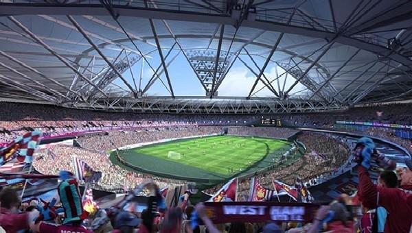West Ham taraftarının kombine çılgınlığı