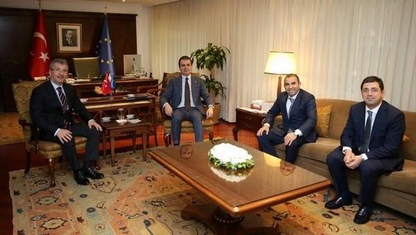 Bayram Akgül'den Ömer Çelik'e ziyaret