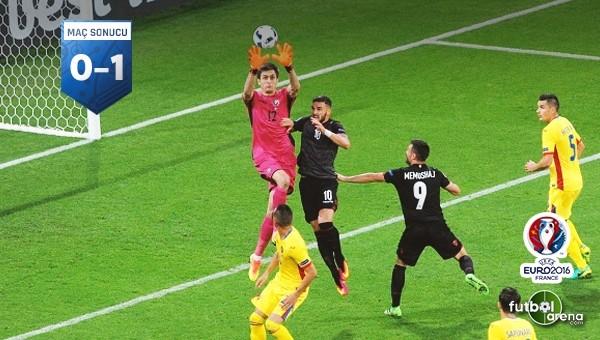Arnavutluk'tan sürpriz galibiyet