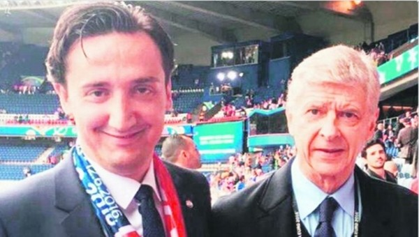 Arsene Wenger'den ilginç gaf