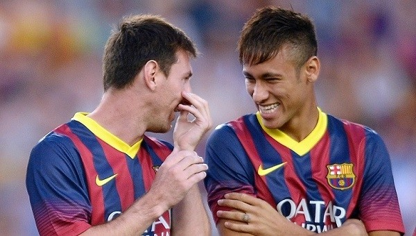 Neymar, Messi'yi çok utandırdı