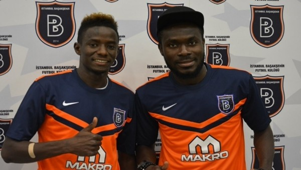 Başakşehir Haberleri: Yeni transferler Cheikhou Dieng ve Joseph Attamah imzayı attı