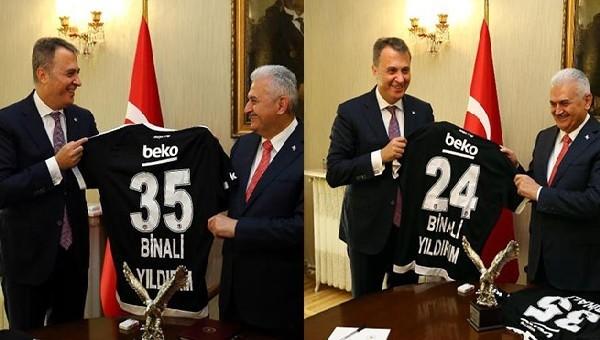Beşiktaş Haberleri: Fikret Orman, Binali Yıldırım'ı ziyaret etti