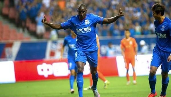 Demba Ba'nın Çin'de Shanghai Shenhua'da attığı goller - İZLE