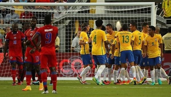 Copa America Haberleri: Brezilya 7 - 1 Haiti maç özeti ve golleri