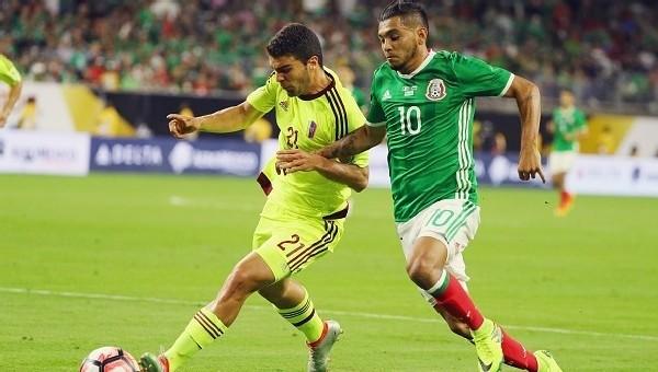 Copa America Haberleri: Meksika ile Venezuela el ele (Meksika 1-1 Venezuela maç özeti ve golleri)