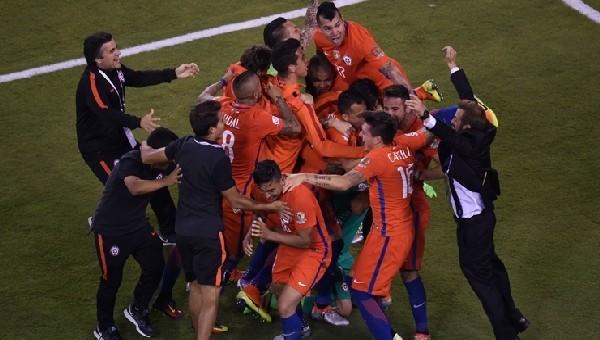 Copa America'da mutlu sona ulaşan taraf