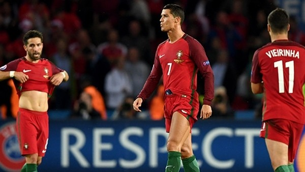 Cristiano Ronaldo'dan Portekiz formasıyla 2 rekor birden
