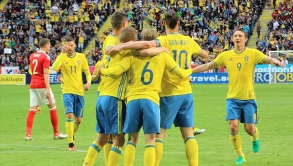 İsveç, Galler karşısında zorlanmadı