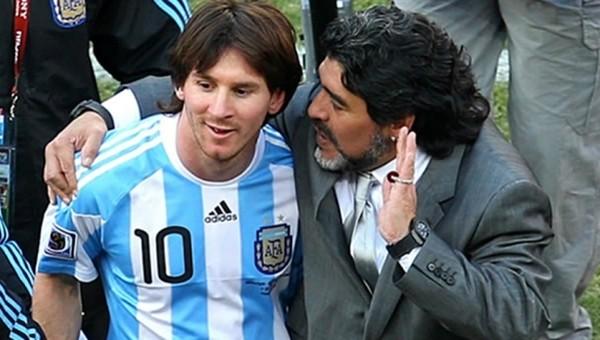 Maradona'dan Messi için OLAY sözler