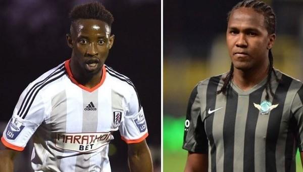 Moussa Dembele ve Hugo Rodallega atağı