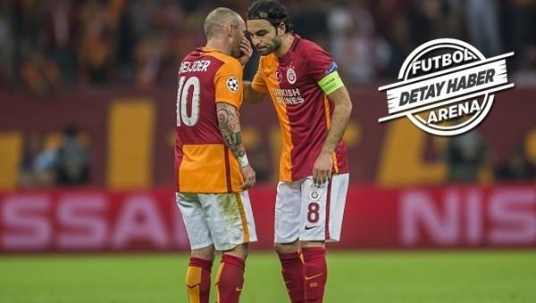 Galatasaray'da orta saha kalmadı!